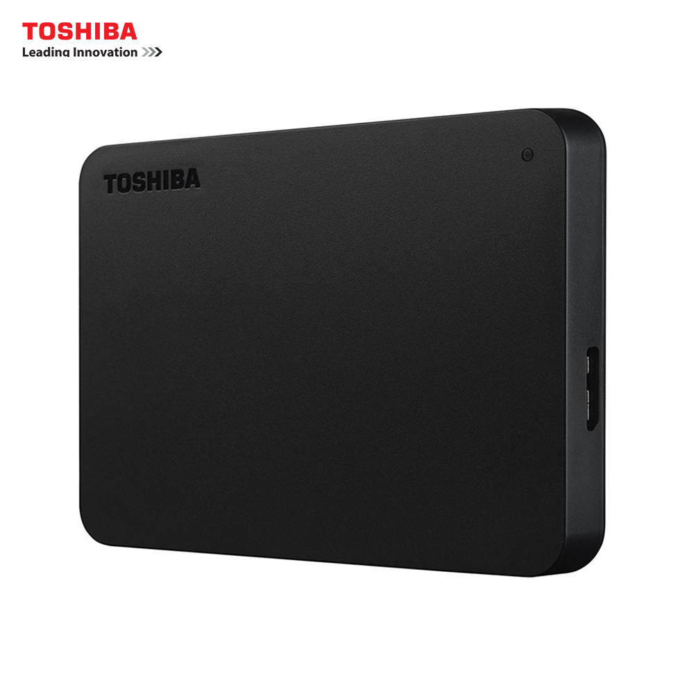 Toshiba HDTB420EK3AA 2 TB 3.0 (3.1 Gen 1) external hard drive 5000 Mbit/s USB powered black disk
