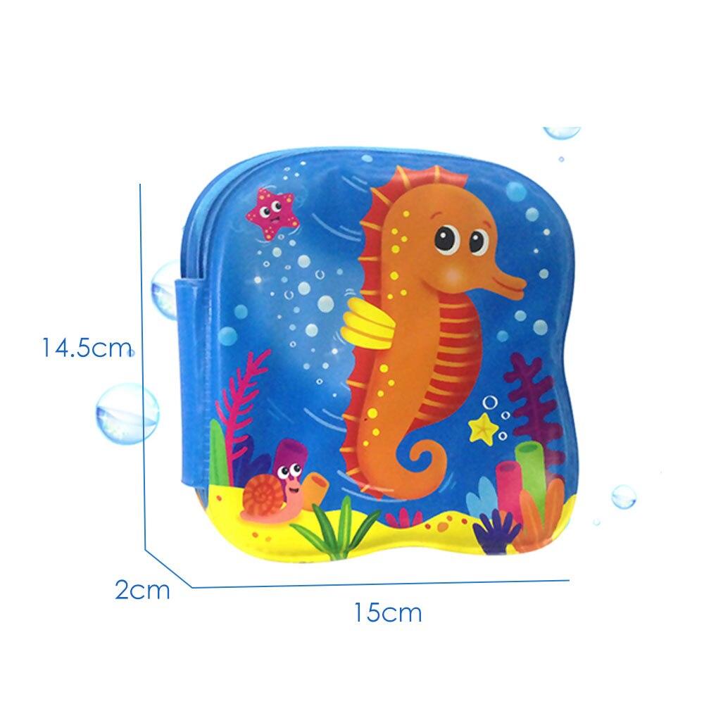 Водонепроницаемая книга для ванны игрушки для воды Книга ПВХ раннее развитие обучающий образовательный крутой обучающие игры животные Дети подарок
