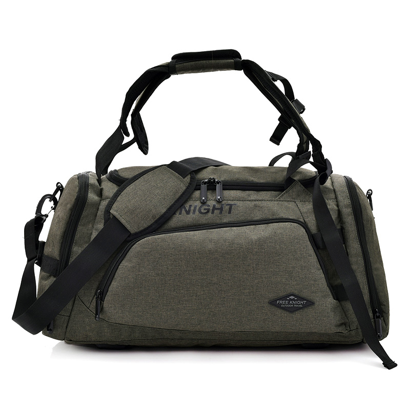 Sports Bags Free Knight Fk0601 Large Multifunctional Travel Bag For Training Exercise Camping Bag Shoes Storage Large Capacity Sport Bag Training Bags