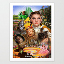 SepYue  5d Diy Diamond Painting Full Drill Square Paint with Diamonds The Wizard of Oz Mosaic Home Decor