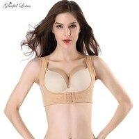 befe8bc2e Breast Shaper Corrective Humpback Back Shaper Push Up Breast Posture  Corrector Adjustable Modeling Strap Women Underwear