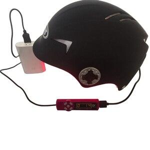 New Upgrade Hair Regrow Laser Helmet Med