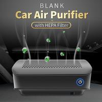 Car Air Purifier Car Air Freshener and Ionic Air Purifier with HEPA Carbon Filter PM Eliminator Cleaner for Allergies