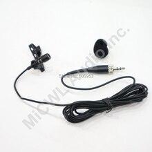 Profesjonalny kondensator dźwięku kardioidalna klip mikrofon przypinany typu lavalier dla Sennheiser Wireless nadajnik osobisty 3.5mm zamykany 1.8 m