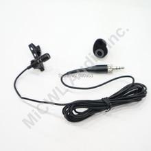 Professionelle Kondensator Nieren Clip Revers Lavalier mikrofon für Sennheiser Wireless Taschensender 3,5mm Abschließbar 1,8 m