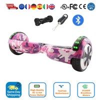 6.5 Electric Skateboard Smart Self Balance Scooter 2 wheel Hoover Boosted Hover Board Run Car One wheel Eu Warehouse