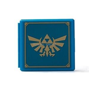 Image 4 - Nintend Schakelaar Accessoires Draagbare Game Kaarten Case Shockproof Hard Shell Opbergdoos Voor Nintendo Switch Ns Games