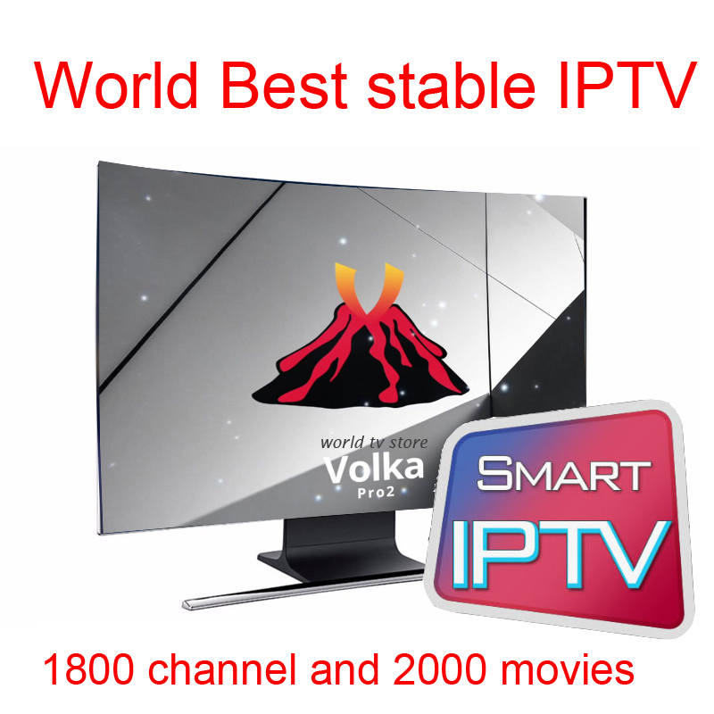 US $27 05 26% OFF|smart tv VOLKA pro Iptv subscription French arabic iptv  code vod stalker xtream king magnum ott iptv code-in Set-top Boxes from