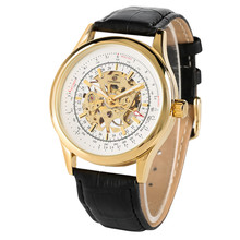 Relogio Mens Watches Top Brand Luxury Skeleton Mechanical Watch Tourbillon Stainless Steel Case Casual