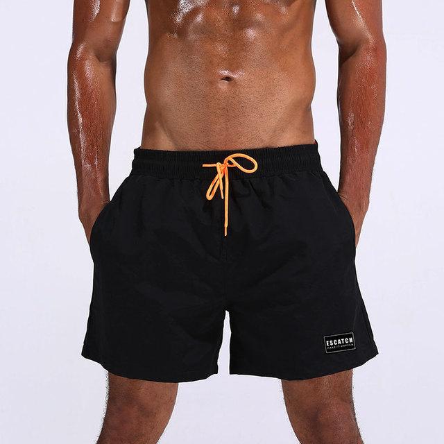 2018 Swimwear Men Swimming Trunks Mens Swim Briefs Maillot De Bain Homme Bathing Suit Bermuda Surf Beach Wear Man Board Shorts