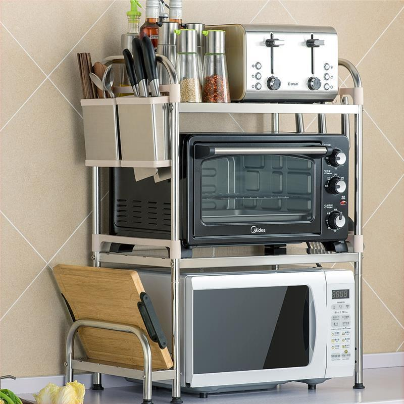 Keuken Dish Drainer Nevera Almacenaje Etagere Stainless Steel Rack Cocina Organizador Mutfak Cozinha Kitchen Organizer in Racks Holders from Home Garden
