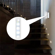 Cabinet-Light Lighting Sticker Adhesive Lamp Wardrobe Cupboard Closet Drawer LED Bedroom