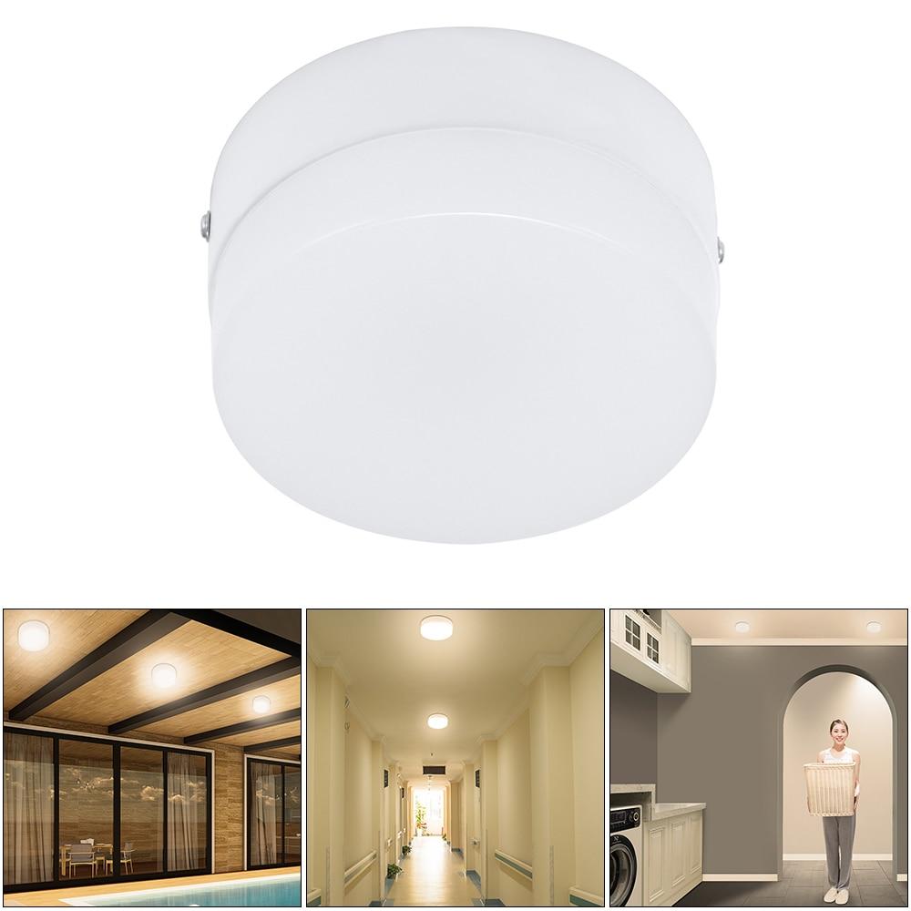 Ceiling Light Motion Sensor Light Indoor 15w 10w Radar Activated Led Flush Mount Ceiling Light For Hallway Stairway Bathroom Ceiling Lights Aliexpress