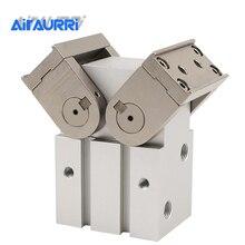 цена на MHW2-20D 25D1 32D 40D 50D 180° Angular Type Air Gripper Rack & Pinion Type Cylinder