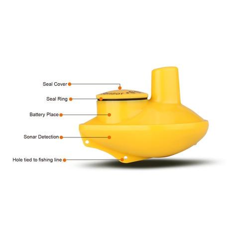 sensor de sonar ecobatimetro handheld tela portatil handheld