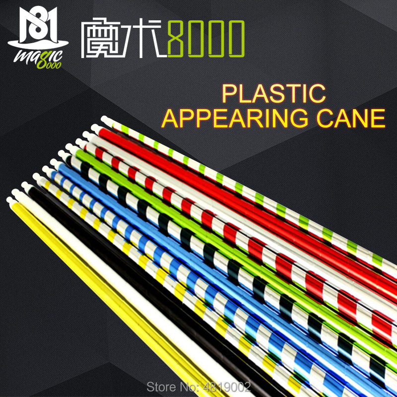 Plastic Appearing Cane 90cm Many Colors Available Magic Props Magic Tricks
