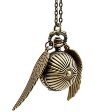 Harry Potter Cosplay Golden Wings Snitch Retro Watch
