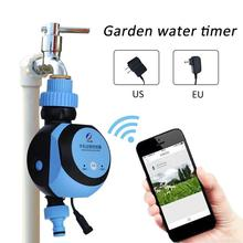 Smart Electronic Automatic Timer Smart Phone Remote Control Garden Irrigation Controller Irrigation System Solenoid Valve Hose