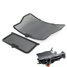 Motorcycle Radiator Guard Grill Oil Cooler Cover Protector For BMW S1000R 2013-2016 S1000RR S1000XR 2015-2016 HP4 Black 2019 engine timing inspection crank case screw plug cap cover for bmw g450x 08 10hp4 12 15 s1000r s1000rr s1000xr 2013 2014 2015 2016