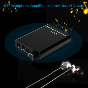 Image 4 - XU09 Hi Fi Headphone Amplifier Portable High Quality Sound Amplifier Improver For iPhone 8 X MP3 MP4 Other 3.5mm Audio Devices