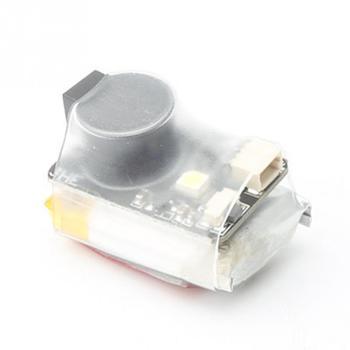 Para JHE42B Finder 5V Super Loud zumbador Tracker 110dB con alarma LED zumbador para Dron de carreras con visión en primera persona controlador de vuelo tt