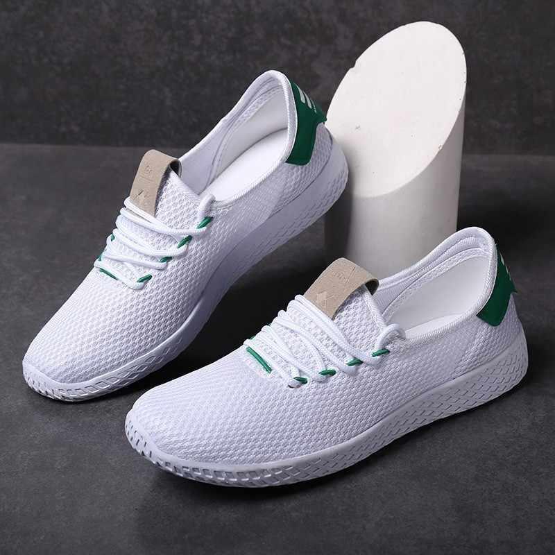 נעלי גבר מבוגרים שרוכים באיכות גבוהה לנשימה זכר הנעלה סניקרס אור גדול גודל נוער מכירת מגמת נעליים יומיומיות