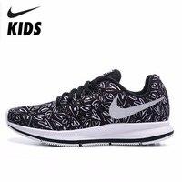 Nike детская обувь мальчик и девочка будет детская спортивная обувь Детские кроссовки беговые кроссовки Детская обувь #854170 002