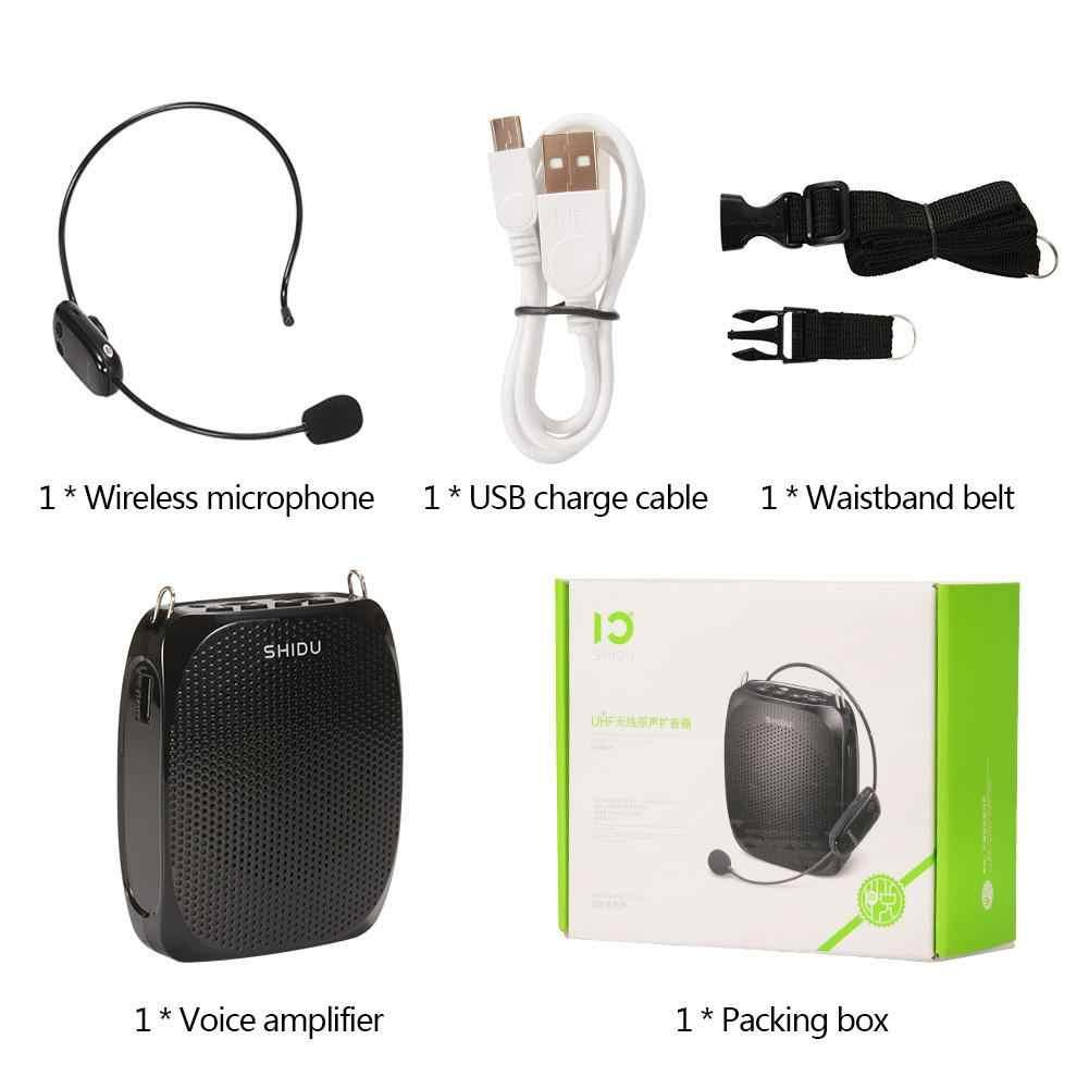 SD-615 教える 10 ワットポータブル音声アンプ発信音声スピーカー 2.4 2.4g ワイヤレスマイクアンプ fm ラジオスピーカー