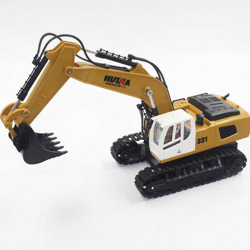 HUINA 1331 1/16 2,4 г RC платной Электрический экскаватор модель инженерных копать игрушки