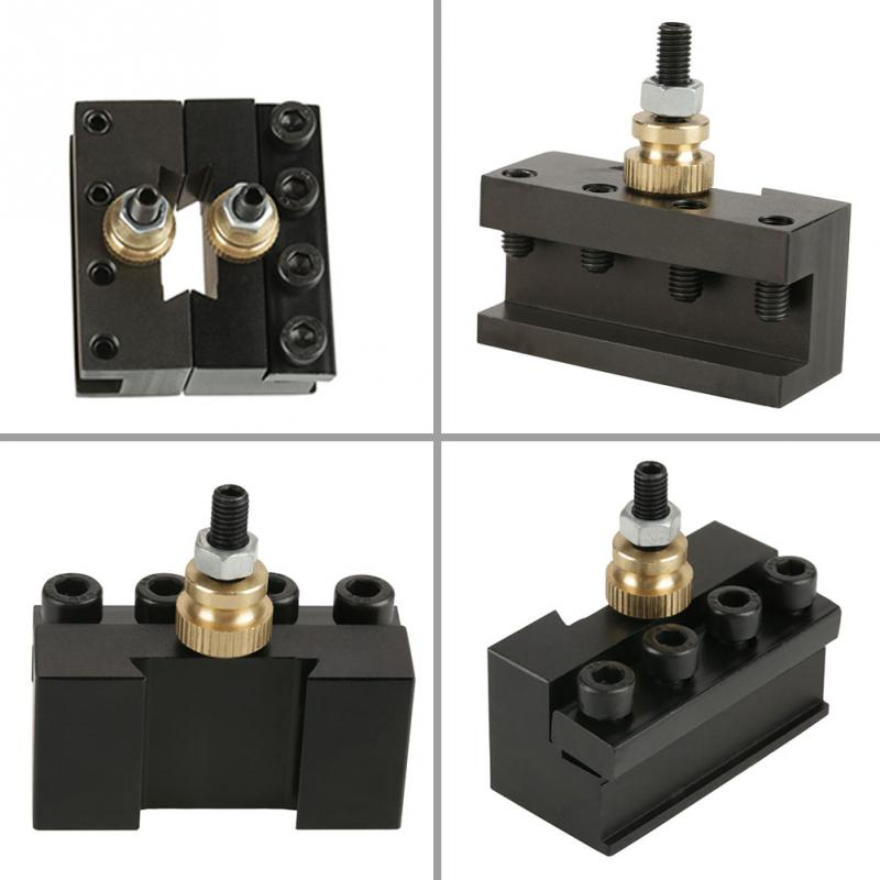 Aluminum Mini Lathe Quick Change Tool Post Boring Turning /& Facing Holders Kits