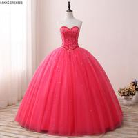 Vestidos De 15 Anos Coral Quinceanera Dresses Prom Ball Gown Vestidos Para Quinceaneras 2017 Debutante Gowns Dress for 15 years