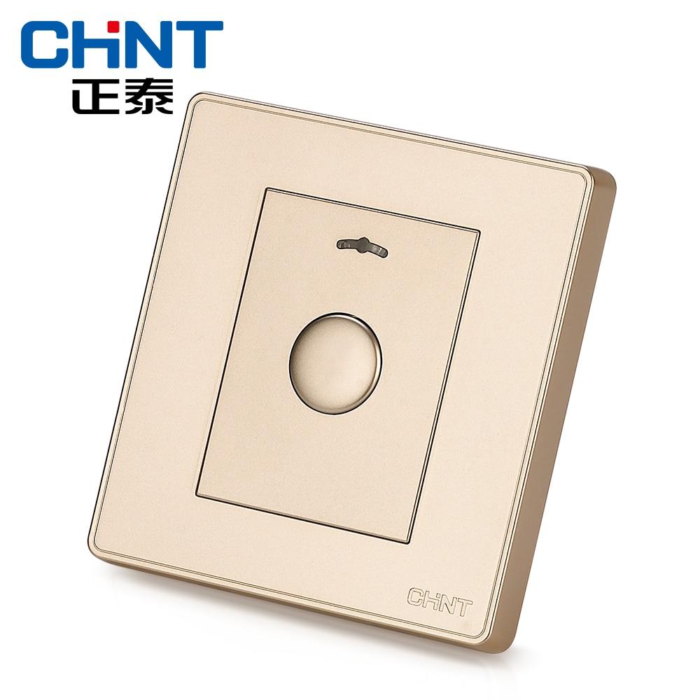Interrupteur tactile chinois interrupteur mural prise NEW2D lumière Champagne or bouton interrupteur de retard - 3