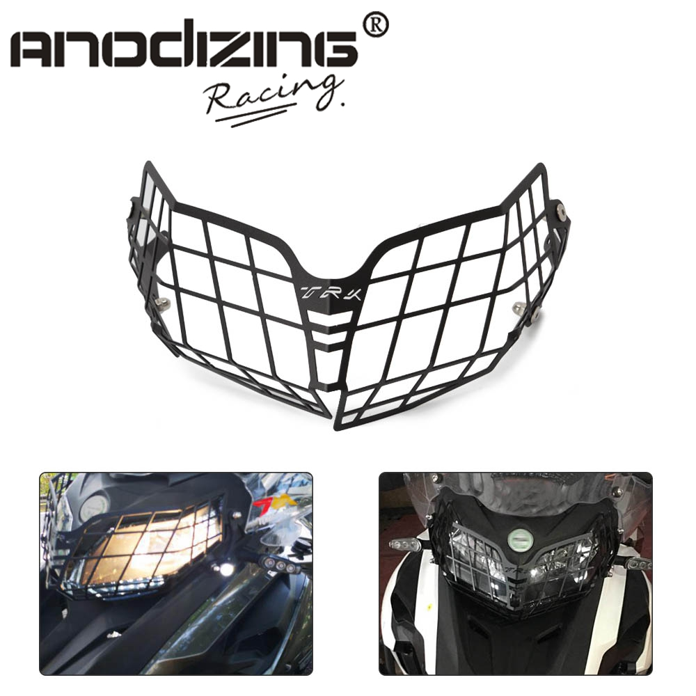 Moto Parts Motorcycle <font><b>Accessories</b></font> Headlight Guard Protector Grille Covers for <font><b>Benelli</b></font> TRK502 <font><b>TRK</b></font> <font><b>502</b></font> image