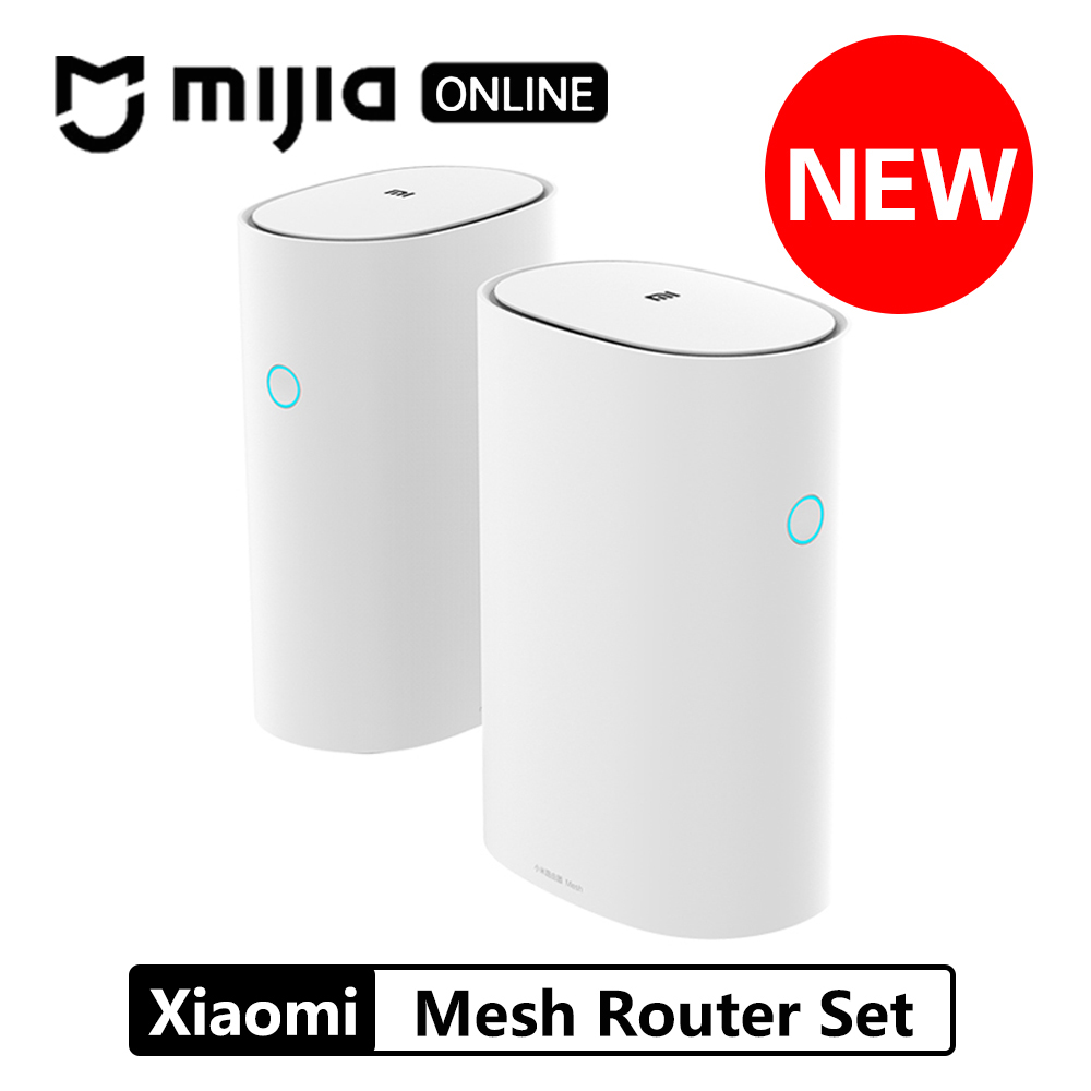 Original Xiaomi Mi WiFi Router Mesh Version 2.4GHz 5GHz High speed 4 core CPU 256MB Gigabit power Max 3 Repeater Smart Network