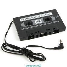 Профессиональная CD лента mp3 плеер аудио автомобильный Кассетный адаптер конвертер 3,5 мм для lphone android смартфон MP3 AUX