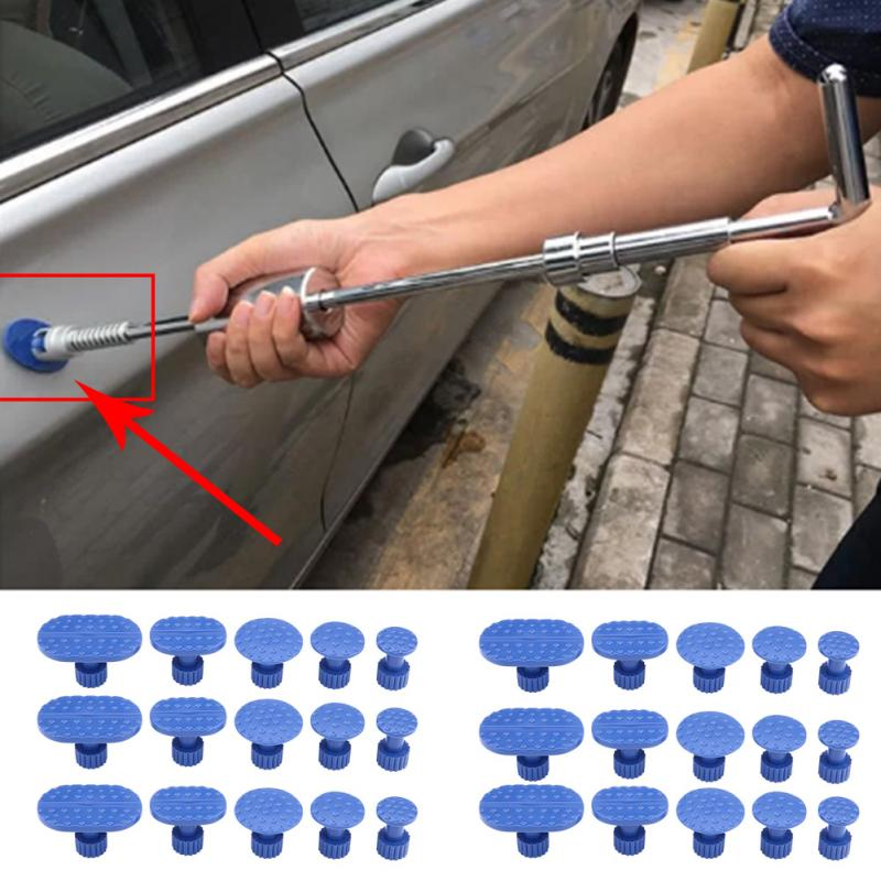30Pcs Car Dent Puller Paintless Dent Repair Hail Removal Kit Tool Diverse Pulling Tabs For Auto Body Repair Tool Puller Tabs