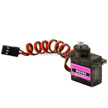 10pcs/lot MG90S mg90s Metal gear Digital 14g mini Servo For Rc Helicopter Plane Boat Car Model is special