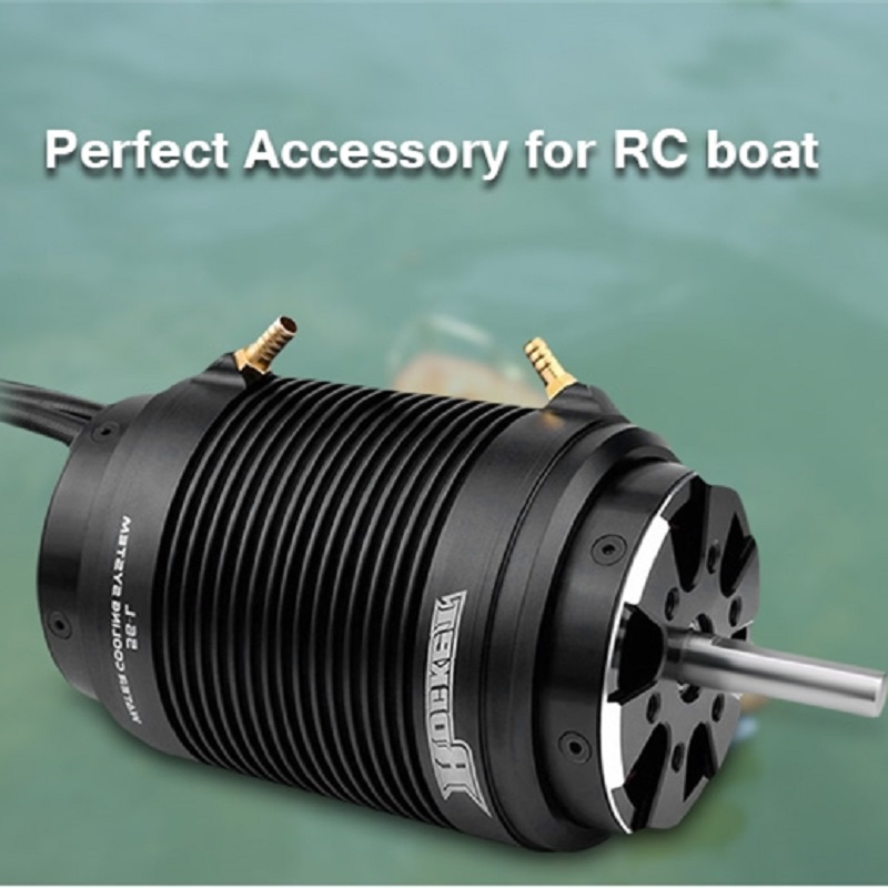 SURPASS HOBBY Rocket 5692 730KV RC Boat Brushless Motor with 56 - S Water Cooling Jacket Perfect Accessory For RC Boat abwe best sale 2968 3400kv brushless motor and 29 l water cooling jacket combo set for 600 800mm rc boat black