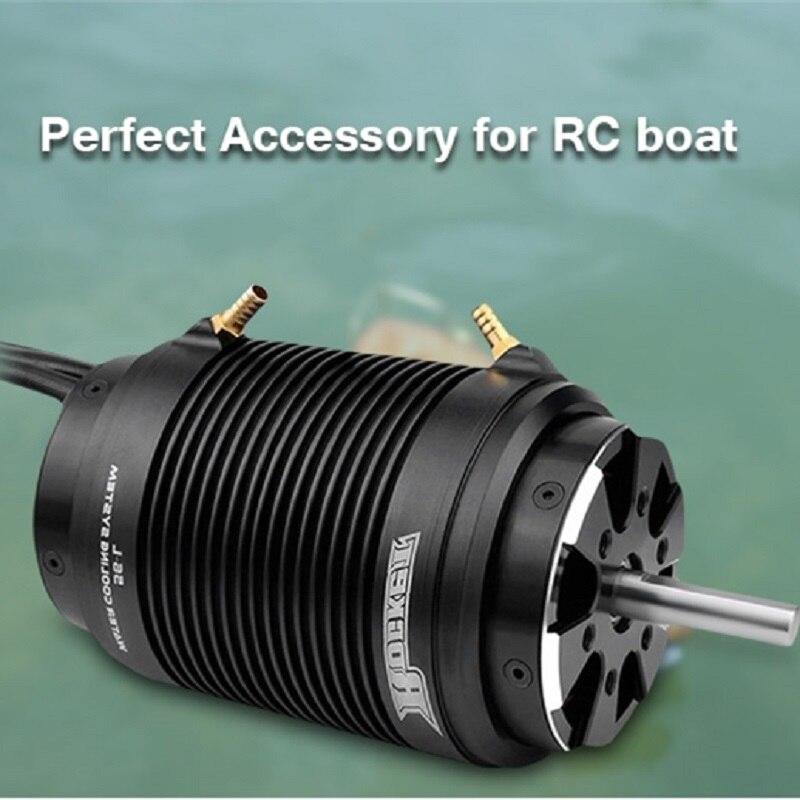 Surpasser le moteur sans brosse de bateau de la fusée 5692 730KV RC de passe-temps avec la veste de refroidissement par eau de 56-S accessoire parfait pour le bateau de RC