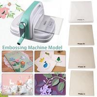 Embossing Machine Large Size Green Hand Paper Art Diy Cutting Thin Making Tool Paper Machine Scrapbooking Machine Paper Cutting