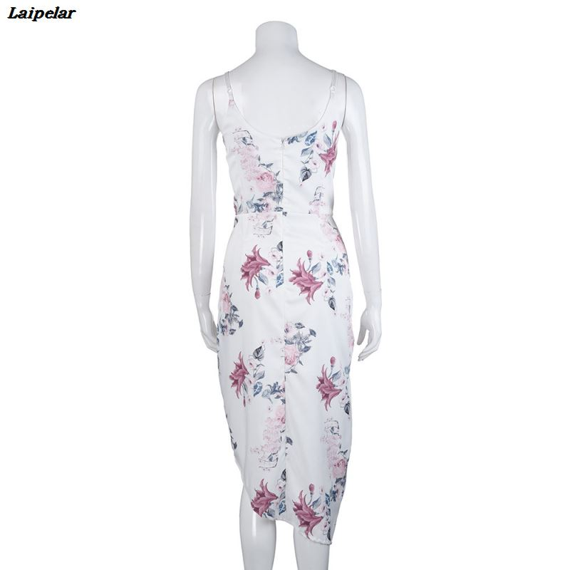 Women Camisole Sleeveless Printing Irregular Tighten Buttocks Tighten Dress Print dress with a smell summer dresses Fashion in Dresses from Women 39 s Clothing