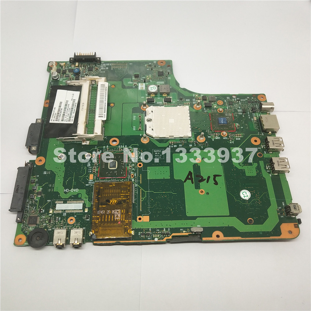 For TOSHIBA SATELLITE A200 A205 A215 A210 A200D LAPTOP MOTHERBOARD V000108790 6050A2127101