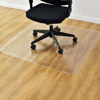 PVC Rectangle Matte Floor Protection Mat Chair Mat Transparent US Warehouse Directly Shipping 7-10 Days Delivery