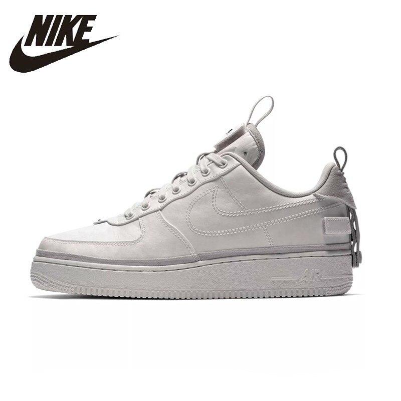 NIKE Air Force 1 Hommes Et Femmes Planche À Roulettes Chaussures Respirant Sneakers Pour Hommes Et Femmes Chaussures