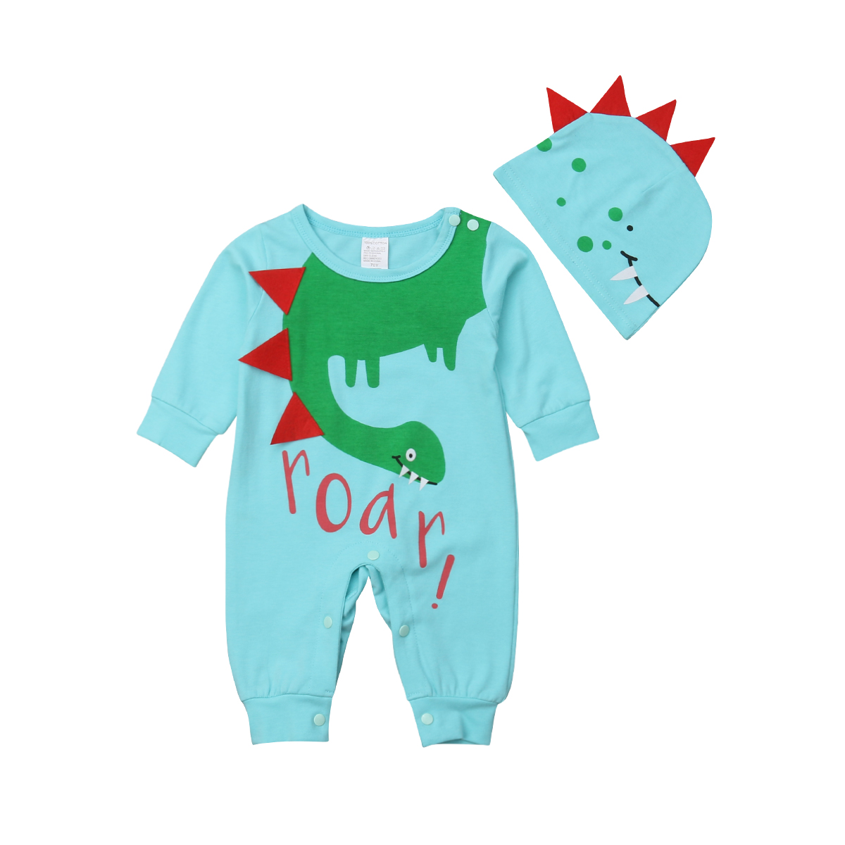 07f71a098 Girls' Clothing (Newborn-5T) Baby & Toddler Clothing US Stock Lovely Baby  Girls Cartoon Romper Jumpsuit Backless Dinosaur ...
