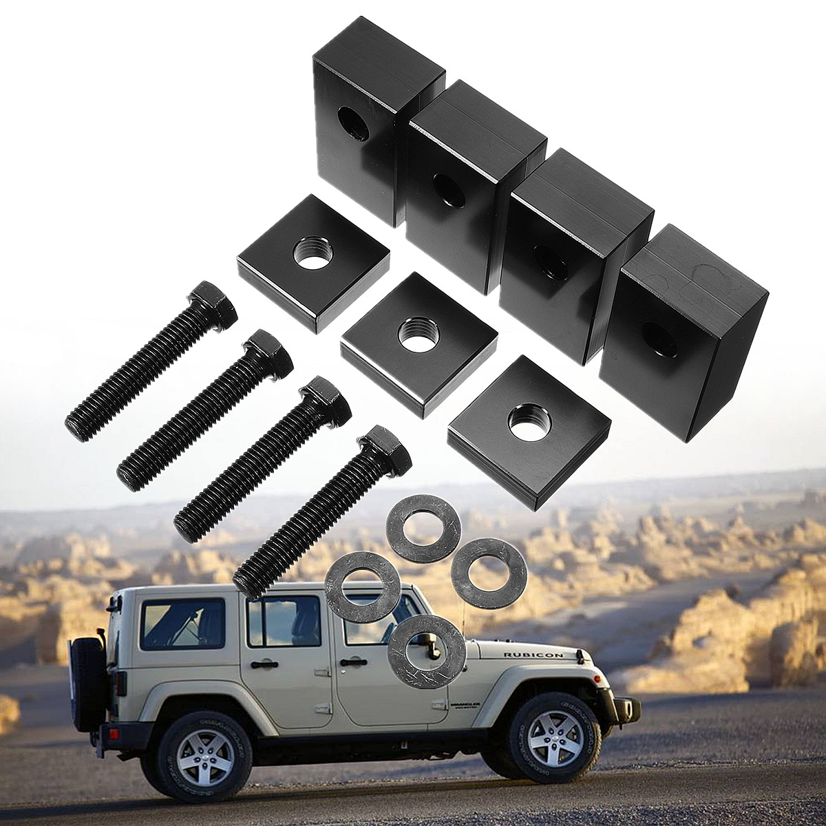Recline Cnc Spacer Kit Back Rear Seat Support For Jeep For