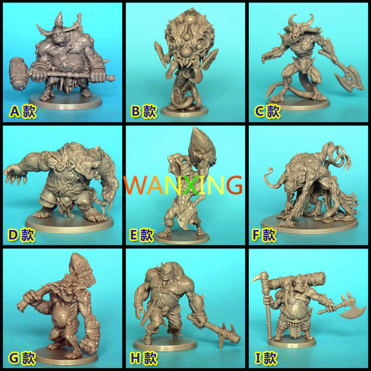 1/72 Scale Model CMON Board Role-playing Games Piece Resin Model Massive Darkness Endless Dark Light Messenger Ks Expand Sale