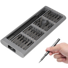 XIAOMI Wiha 25 in 1 Multi-purpose Precision Screwdriver Set S2 Steel Repair Tool Laptop Repair Tool(China)
