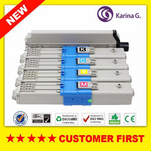 Remanufactured  for OKI C301 C321 Color Toner Cartridge for Okidata C301 C321 etc. powder for oki data b730dn for okidata b720dn for oki b730n for oki data b710 n photocopier powder free shipping