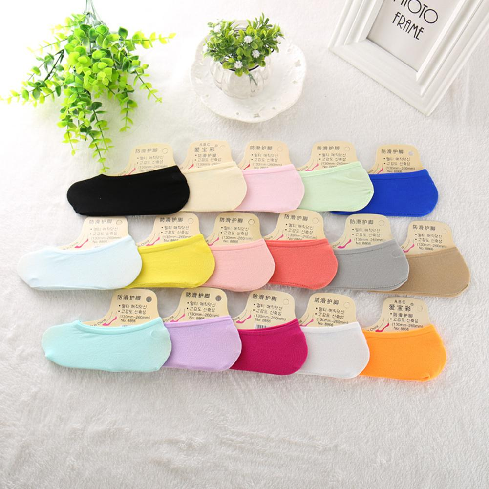 Kidlove Kids Girls Thin Summer Silicone Non Slip Ankle Socks